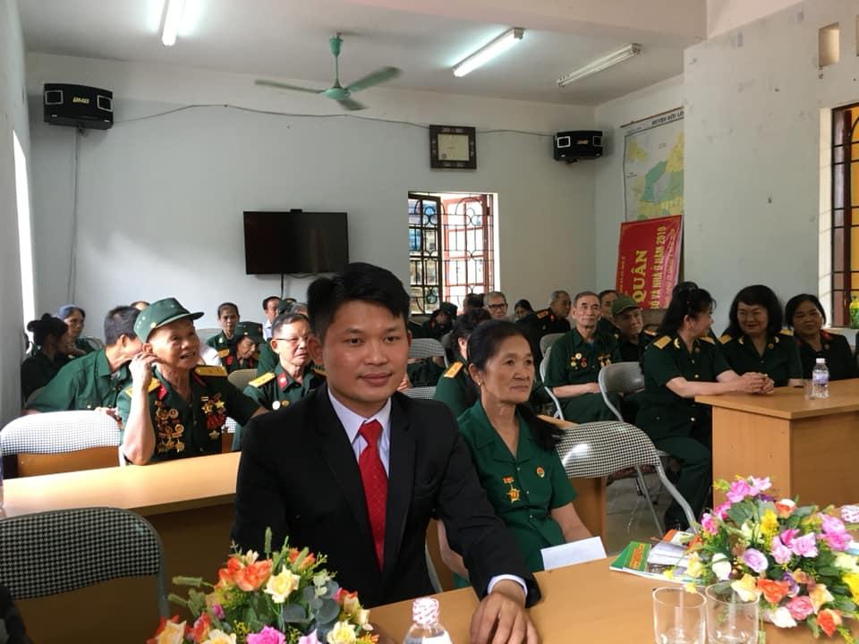 Phó Chủ tịch Liên hiệp Trí tuệ Việt Nam Bùi Văn Dũng dự kỷ niệm niệm 44 năm Hội nghĩa tình đồng đội tỉnh Lạng Sơn, ngày 27/04/2019